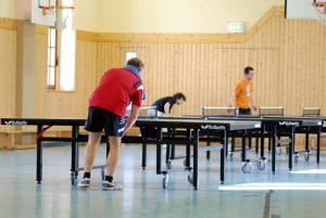 Trainingsauftakt @ Sporthalle des TTV96 Grimma